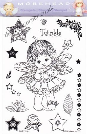 Fairy Twinkle 15 Clear Rubber Stamp Set From Morehead